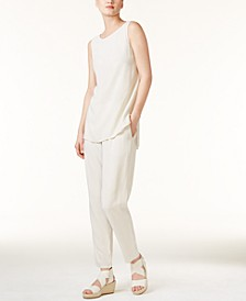 High-Low Tunic & Ankle Pants