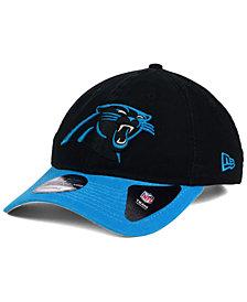 New Era Carolina Panthers Relaxed 2Tone 9TWENTY Strapback Cap