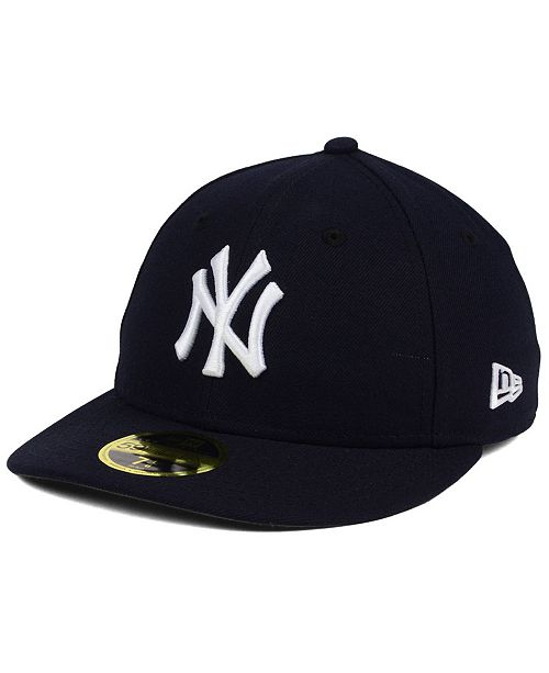 ... New Era New York Yankees Low Profile AC Performance 59FIFTY Cap ... 56b7eb8b292