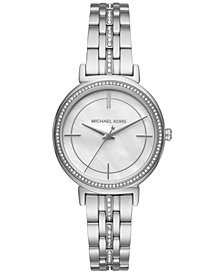 Michael Kors Women's Cinthia Stainless Steel Bracelet Watch 34mm MK3641