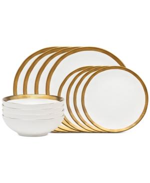 Godinger Terre DOr 12Piece Dinnerware Set Service for 4