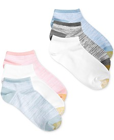 Gold Toe Women's 6-Pk. Free Feed Soft Liner Socks