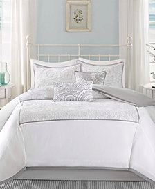 Harbor House Cranston 5PC Embroidered Full/Queen Duvet Set