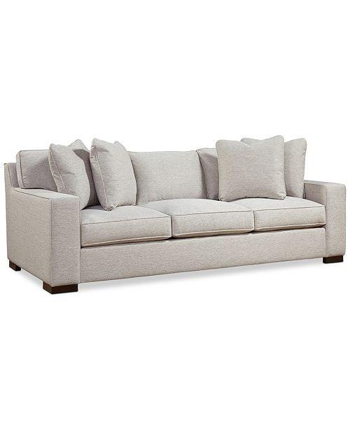Furniture Bangor 95 Xl Fabric Sofa Created For Macy S Reviews