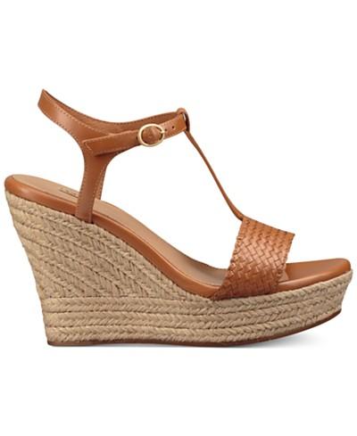UGG® Fitchie Wedge Espadrille Dress Sandals