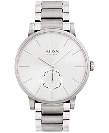 BOSS Men's Essence Stainless Steel Bracelet Watch 42mm 1513503