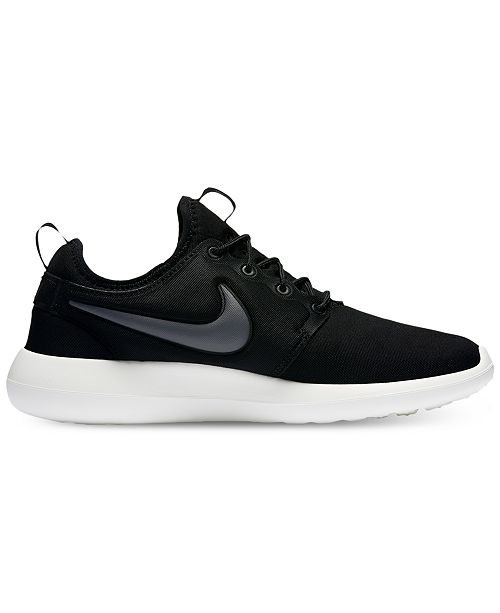 e88029fd3d233 Nike Men s Roshe Two Casual Sneakers from Finish Line   Reviews ...