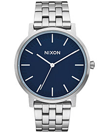 Nixon Men's Porter Stainless Steel Bracelet Watch 40mm A1057