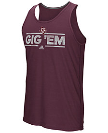 adidas Men's Texas A&M Aggies Dassler Tactical Tank