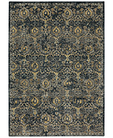 Karastan Touchstone Boyne Blue Teal Area Rug Collection
