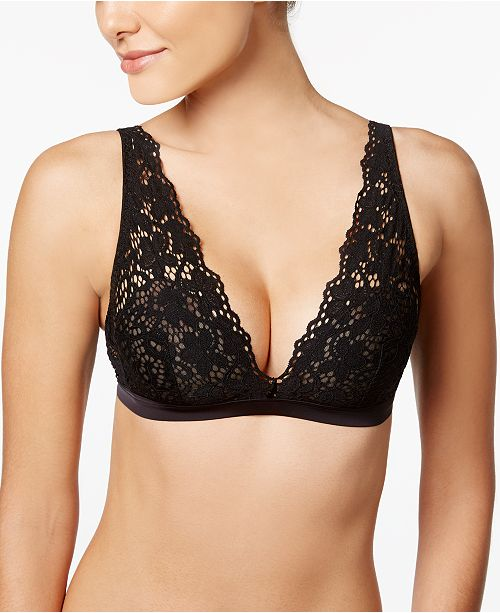 133a8daf14785a DKNY Classic Lace Sheer Bralette DK4017   Reviews - All Bras ...