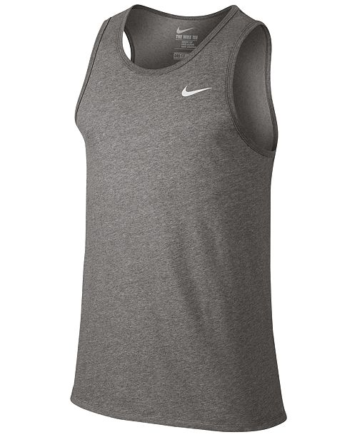 up-to-date styling choose newest skilful manufacture Nike Men's Dri-FIT Tank Top & Reviews - T-Shirts - Men - Macy's