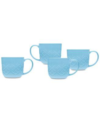 Dublin Blue 4-Pc. Mug Set