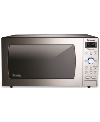 panasonic stainless steel microwave with cyclonic inverter