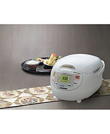 NS-ZCC18WZ 10-Cup Advanced Neuro Fuzzy Rice Cooker and Warmer