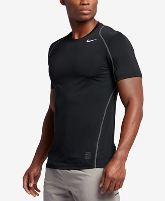Nike Men's Pro Cool Fitted Dri-FIT Shirt - T-Shirts - Men - Macy's
