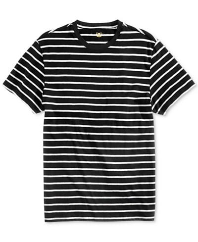 Club Room Men's Goldman Striped T-Shirt, Created for Macy's