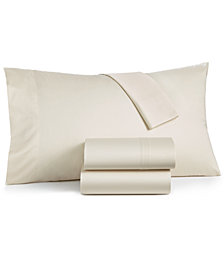 LAST ACT! Dream Science by Martha Stewart Collection Allergy Sleep System 4-Pc Queen Sheet Set, 350 Thread Count 100% Cotton, AAFA Certified, Created for Macy's