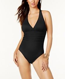 La Blanca Strappy One-Piece Swimsuit