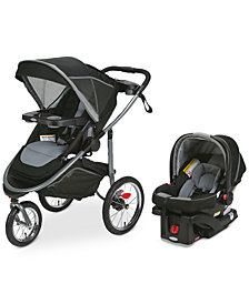 Graco Modes Jogger Stroller & SnugRide 35 Infant Car Seat Travel System