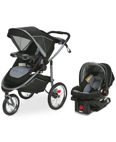 Graco Modes Jogger Stroller & SnugRide 35 Infant Car Seat Travel ...