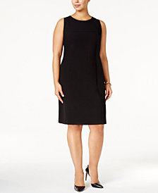 Nine West Plus Size Classic Sheath Dress