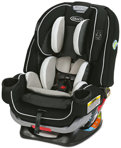 Graco Extend2Fit 4Ever All-In-One 4-in-1 Convertible Car ...