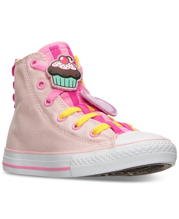 Converse Little Girls' Chuck Taylor Loopholes Emoji High Top ...