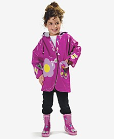 Butterfly Rain Gear, Toddler Girls & Little Girls