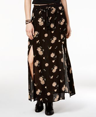 american rag printed slit maxi skirt only at macy