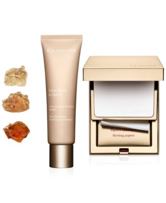 Image result for clarins pore perfecting mattifying collection