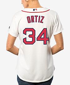 Majestic Women's David Ortiz Boston Red Sox Cool Base Jersey