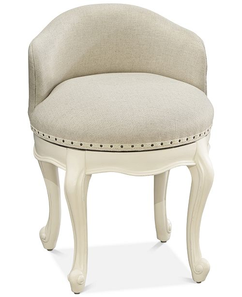 Furniture Genevieve Kids Vanity Swivel Stool