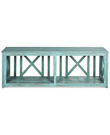 Allder Outdoor Bench, Quick Ship