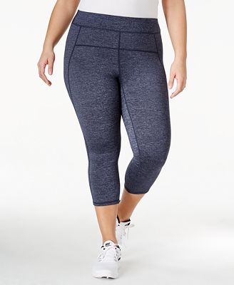 Calvin Klein Performance Plus Size Capri Leggings - Plus Sizes ...