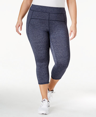Calvin Klein Performance Plus Size Capri Leggings - Plus Sizes ...