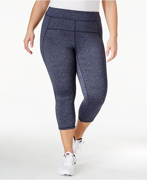 59e7487c19f Calvin Klein Plus Size Capri Leggings   Reviews - Pants   Capris ...