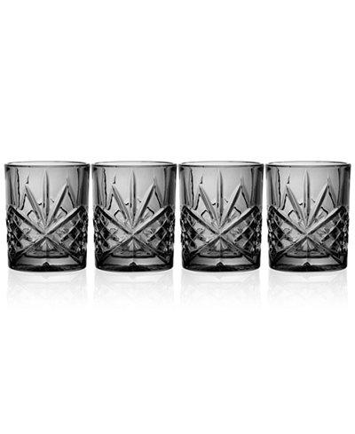 Godinger Dublin 4-Pc. Double Old Fashioned Glass Set