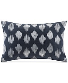 "Nadia Embroidered Dot 12"" x 18"" Decorative Pillow"