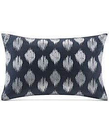 "INK+IVY Nadia Embroidered Dot 12"" x 18"" Decorative Pillow"