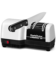 Edgecraft Chef's Choice Electric M210 Knife Sharpener, Hybrid Diamond Hone