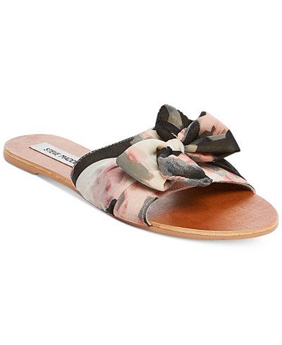 Steve Madden Women's Alex Knot Slide Sandals