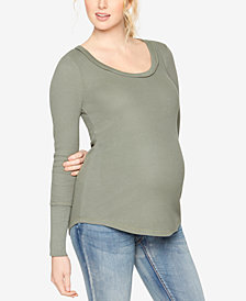 Splendid Maternity Scoop-Neck T-Shirt