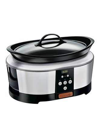 Crock-Pot SCCPBC600S Slow Cooker, 6 Qt.