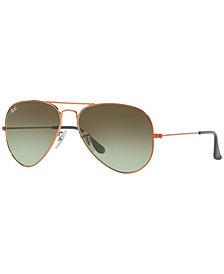Ray-Ban ORIGINAL AVIATOR Sunglasses, RB3025 55