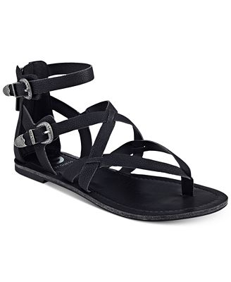 G by GUESS Hearn Caged Sandals