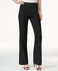 I.N.C. Petite Pull-On Wide-Leg Pants, Created for Macy's