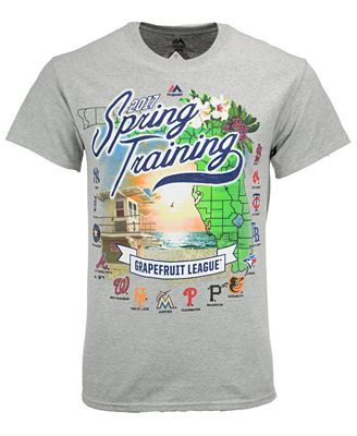Majestic Men\'s Grapefruit League Map T-Shirt - Sports Fan Shop By ...