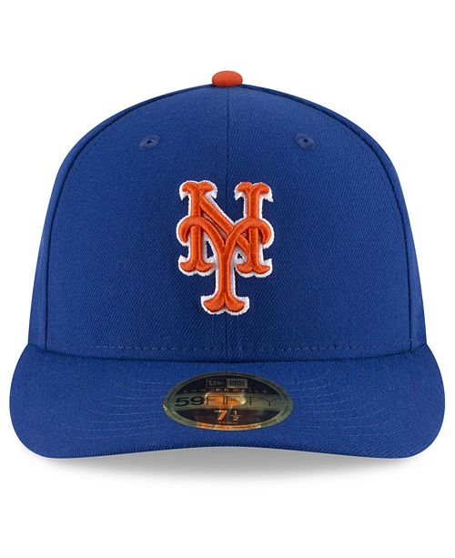factory price 4ebfe 493e0 ... New Era New York Mets Low Profile AC Performance 59FIFTY Cap ...