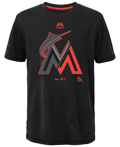 Majestic Kids' Miami Marlins Split Series Ultra T-Shirt